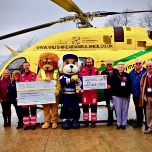 Wiltshire Air Ambulance donations